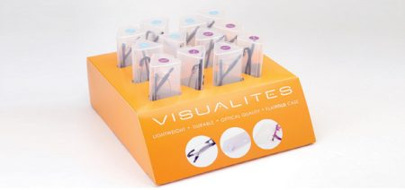 Visualites 8 reading glasses display